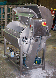 Custom sanitary blender mixer
