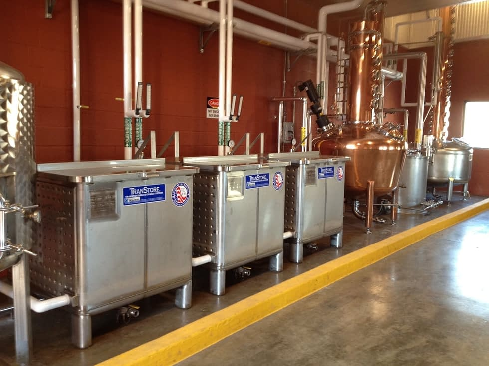 Epicenter Transtore open top fermenters craft distilling
